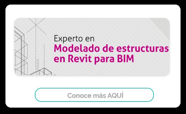 modelado de estructuras en Revit para BIM
